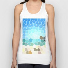 Abstract Geometric Background Unisex Tank Top