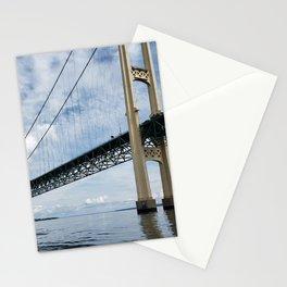 Mighty Mac, Mackinac Suspension Bridge, Michigan Stationery Cards