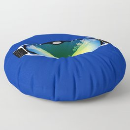 Ski goggles Floor Pillow