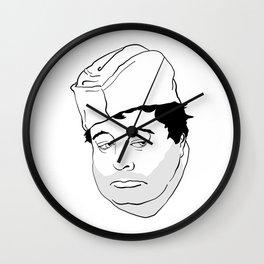PAS DE MOTS Wall Clock