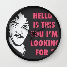 Hello my name is Inigo !  Wall Clock