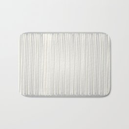 White | Japanese Atmospheres Bath Mat