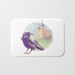 London raven Bath Mat