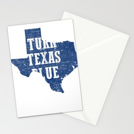 Turn Texas Blue Distressed Vintage - Beto Stationery Cards