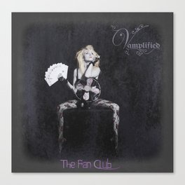 "VAMPLIFIED ""The Fan Club"" Canvas Print"