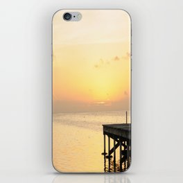 Sunset's in Belize iPhone Skin