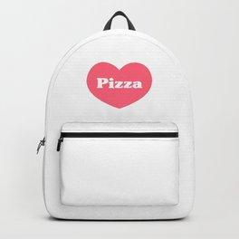 Heart Pizza Backpack