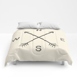 Compass (Natural) Comforters