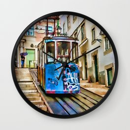 Street Car Wall Clock