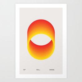 Circles - A 1960 Collection Piece Art Print