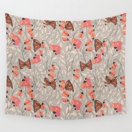 Monarch garden 001 Wall Tapestry