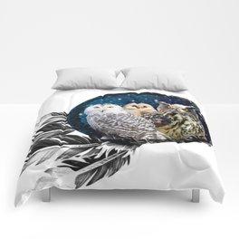 Owls Dream Comforters
