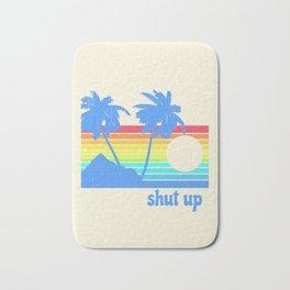 Shut Up Bath Mat