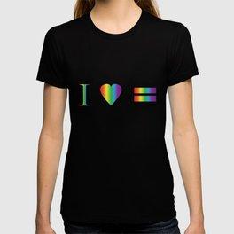I heart Equality T-shirt