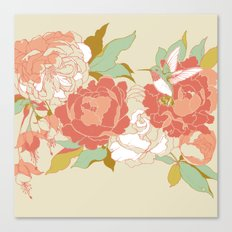 garden party Canvas Print