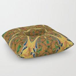 Puzzling Kaleidoscope Floor Pillow