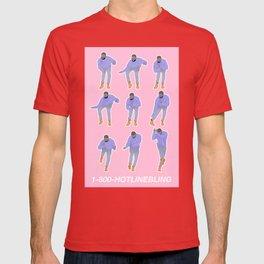Hotline bling (pink) T-shirt