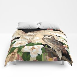 Owls + Moths Comforters