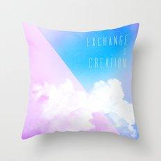 Exchange Throw Pillow