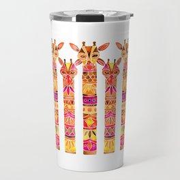 Giraffes – Fiery Palette Travel Mug