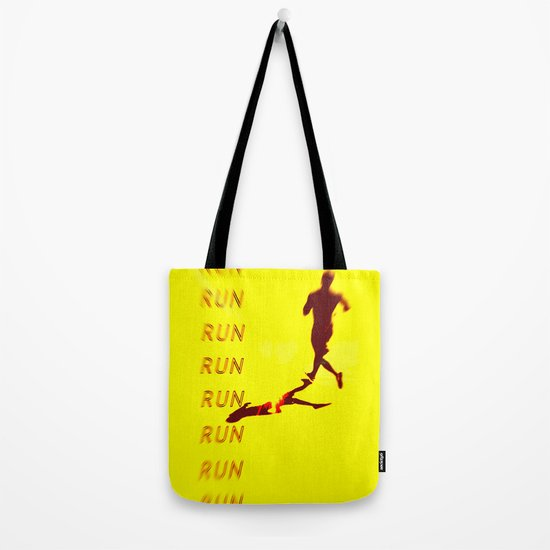 Run Run Run Tote Bag