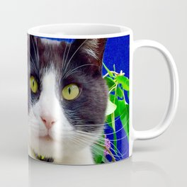 Orazio charming cat in the blue Coffee Mug