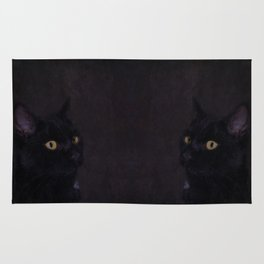 Black Cat - Prince Of Darkness Rug