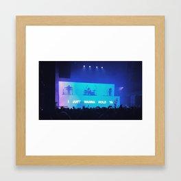 i just Framed Art Print