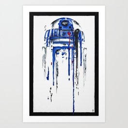 A blue hope 2 Art Print