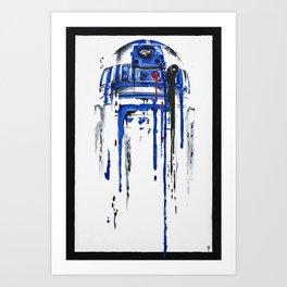 A blue hope 2 Art Print