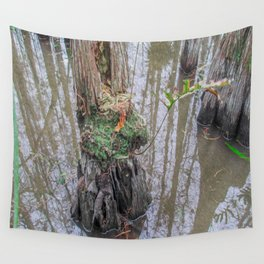 The  Swamp Fairy's Home Wall Tapestry
