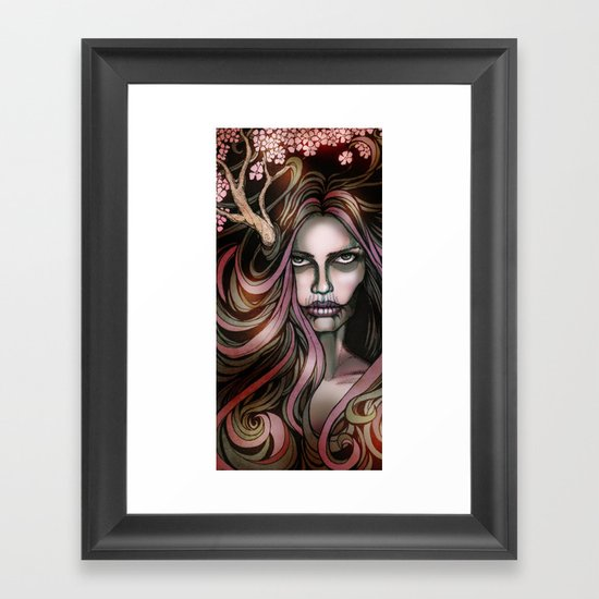 The Secret Blossoming Framed Art Print