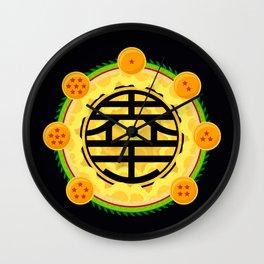 Goku's Kanji Wall Clock