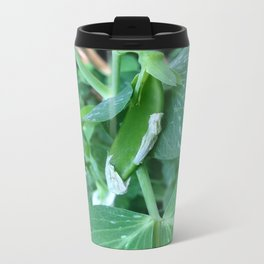 Garden Series - Baby Pea On Vine Metal Travel Mug