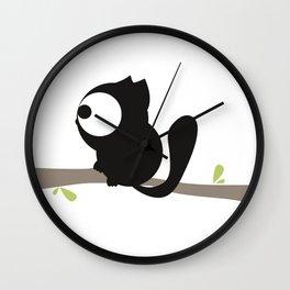 Tree cat Wall Clock