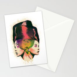 Twin Beehive Stationery Cards