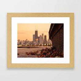 Chicago of the Leaves  Framed Art Print