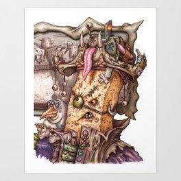 Kaptin Phyllin Art Print
