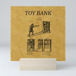 Toy Bank Patent 5 Mini Art Print