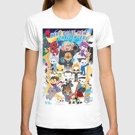 ULTIMATE MARVEL VS CAPCOM 3 ROBOTICS T-shirt