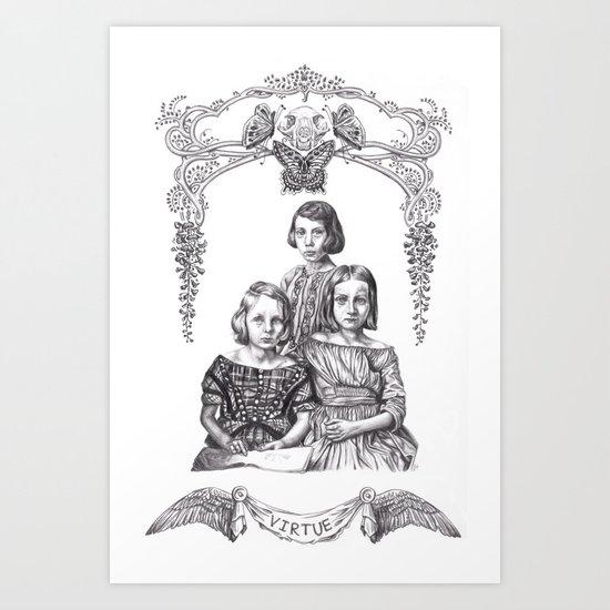 Prudence Art Print