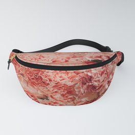 Pink Carnations Pattern Fanny Pack