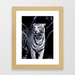 SPIRIT TIGER OF THE WEST Framed Art Print