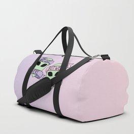 Friendly Aliens (in Unicorn) Duffle Bag
