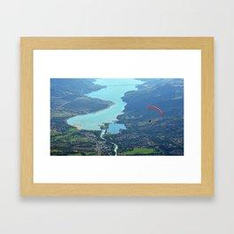 Alone In The Sky Framed Art Print
