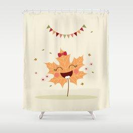 Feuille d'automne Shower Curtain