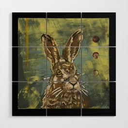 Rabbit Wood Wall Art