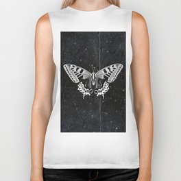 Butterfly in the stars Biker Tank
