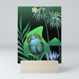 Night Of The Scarab Mini Art Print