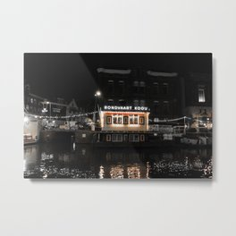 Night Rides 1. #Amsterdam  Metal Print